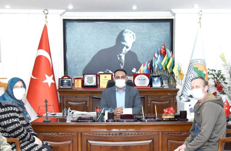 """""""Keser Ailesi, Başkan Yılmaz'ı Ziyaret Ederek Teşekkür Etti"""""""